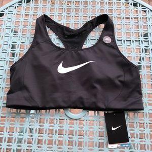 Nike Classic High Impact Sports Bra - Black